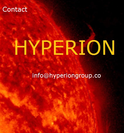 Please contact Hyperion Group by e-mail only. 